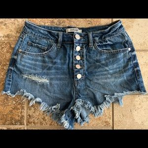 Gently Used refuge Jean Shorts